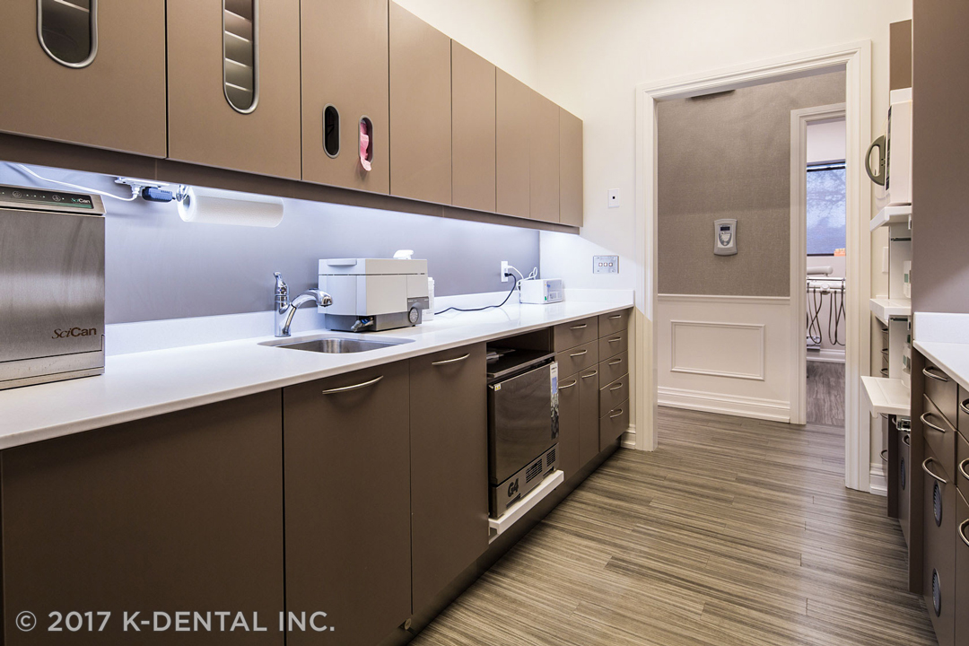 MCC Dental's sterilization center